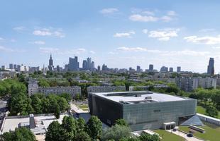 Byliśmy w Muzeum Historii Żydów Polskich. Otwarcie na wiosnę